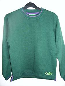 Cub Tipped Sweatshirt 24""