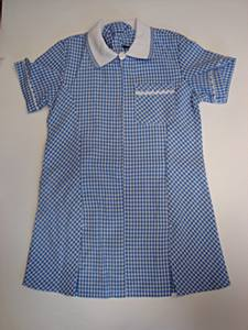 Gingham Summer Dress Grn 11/12