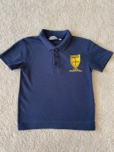 Compton Polo  NAVY 3/4 Years