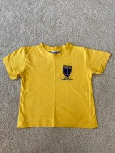 Compton T-Shirt 5/6 Yellow