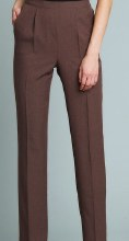girls trousers brown 13