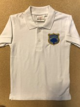 Polo shirt white 24