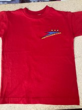 Prince Rock RED T-shirt 3/4