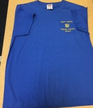 sports day t-shirt blue 7/8