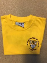 Woodford yel T-Shirt 8/9