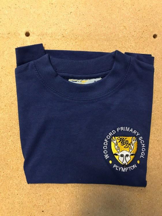 """Woodford blue T-Shirt 28"""""""