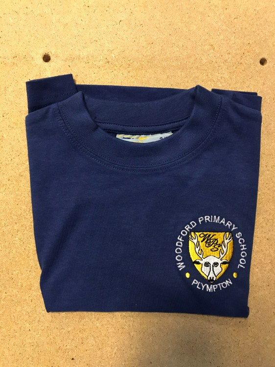 """Woodford blue T-Shirt 30"""""""