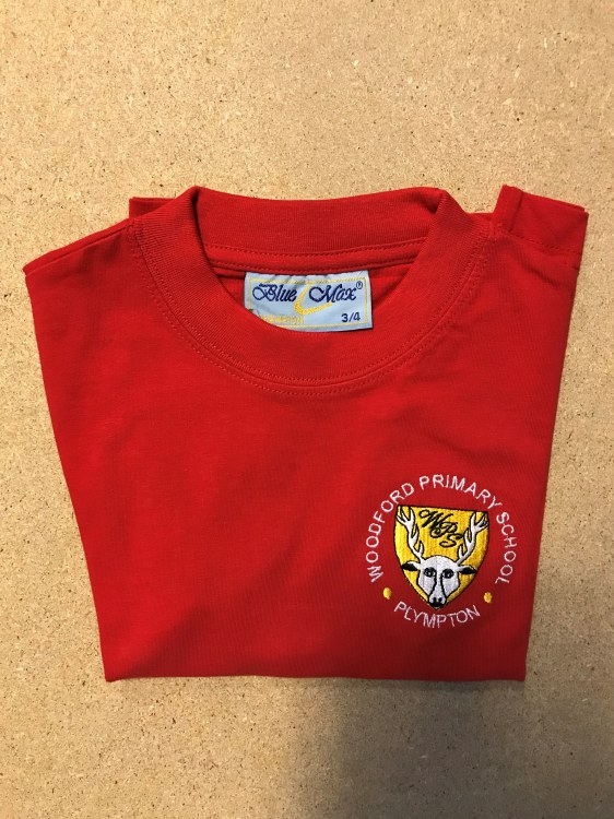 """Woodford red T-Shirt 32"""""""