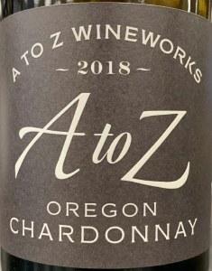 A to Z Chardonnay 2019 (750ML)