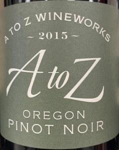 A to Z Pinot Noir 2016 (750ML)