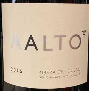 Aalto Ribera del Duero 2018  (750ML)