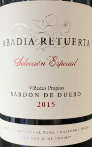 Abadia Retuerta Sardon de Duero Seleccion Especial 2015 (750ml)