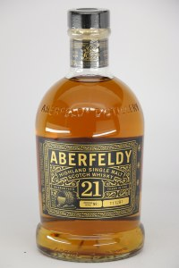 Aberfeldy 21 Year Old Single Malt Scotch Whiskey, Highland (750ML)