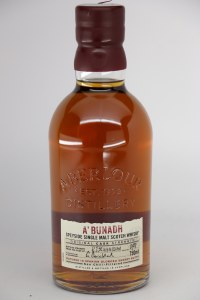 "Aberlour ""A'bunadh"" Original Cask 114.2 Strength Speyside Single Malt Scotch (750ML)"