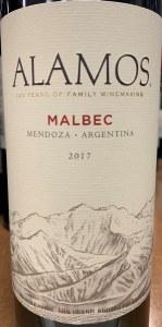Alamos Malbec Mendoza 2019 (750ML)