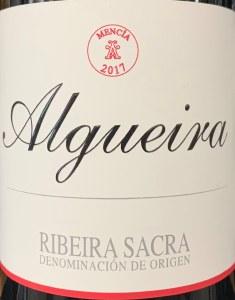 Adega Algueira Mencia Ribeira Sacra 2019 (750ML)