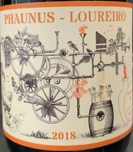 Aphros Phaunus Amphora Loureiro Orange Wine 2018 (750ml)