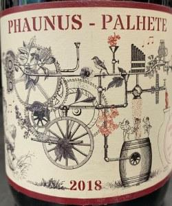 Aphros Phaunus Amphora Palhete Tinto 2019 (750ml)