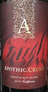 Apothic Crush California 2016 (750ml)