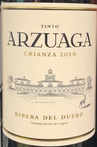 Bodegas Arzuaga Navarro Crianza Ribera del Duero 2016 (750ML)