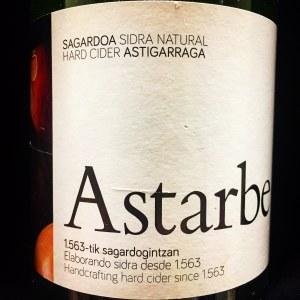 Astarbe Sagardotegia Sidra Natural Astigarraga (750ml)