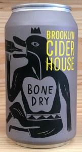 Brooklyn Cider House 'Bone Dry' Hard Cider CAN (355ML)