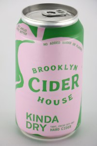 Brooklyn Cider House Kinda Dry Hard Cider CAN (355ML)