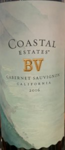 BV Coastal Cabernet Sauvignon California 2016 (750ML)