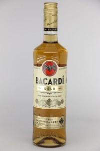 """Bacardi """"Gold"""" Rum .750L"""