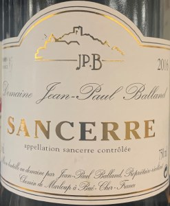 Domaine Jean-Paul Balland Sancerre Rouge 2016 (.750ml)