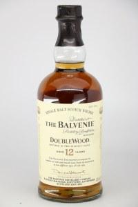 Balvenie DoubleWood 12 Year Old Single Malt Scotch Whiskey, Speyside (750ML)