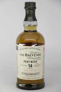 Balvenie 'Peat Week' 14 Year Old Single Malt Scotch Whiskey, Speyside (750ML)