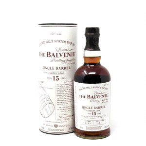 "Balvenie ""15 Year Old"" Sherry Cask Single Barrel Speyside Single Malt Scotch (750ML)"
