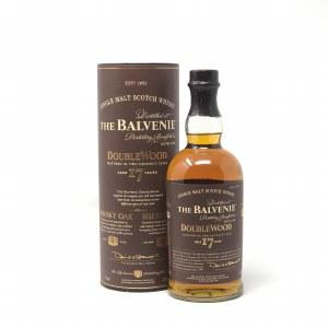 """Balvenie 17 Year Old """"DoubleWood"""" Speyside Single Malt Scotch (750ML)"""