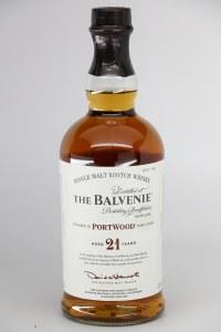 Balvenie PortWood 21 Year Old Single Malt Scotch Whiskey, Speyside (750ML)