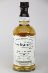 Balvenie Single Barrel 25 Year Old Single Malt Scotch Whiskey, Speyside (750ML)
