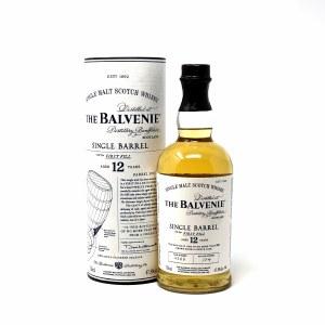 """Balvenie """"Single Barrel"""" 12 Year Old Speyside Single Malt Scotch (750ML)"""