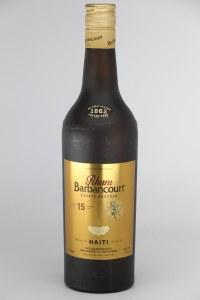"Barbancourt ""15 Year Old"" Rum .750L"