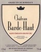Chateau Barde Haut Saint Emilion 2018 (Pre-Arrival) (750ml)