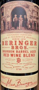 Beringer Bros Cabernet Sauvignon Bourbon Barrel Aged 2017 (.750L)