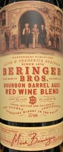 Beringer Bros Red Blend Bourbon Barrel Aged 2016 (.750L)