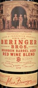 Beringer Bros Red Blend Bourbon Barrel Aged 2017(.750L)
