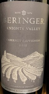 Beringer Cabernet Sauvignon Knights Valley Sonoma 2016