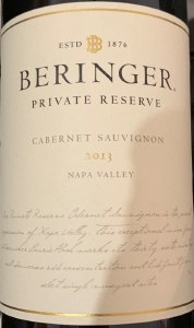 Beringer Private Reserve Cabernet Sauvignon Napa Valley 2013 (750ML) - 97 WA pts