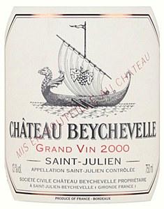Chateau Beychevelle St. Julien Bordeaux 2000 (750ML)