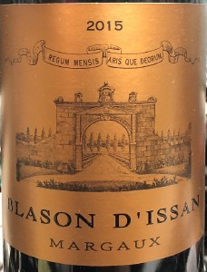 Blasson d'Issan Margaux 2016 (750ml)