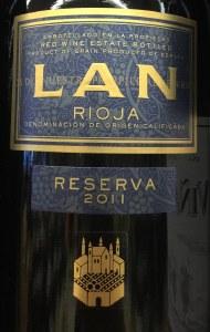 Bodegas Lan Reserva Rioja 2015 (750ml)
