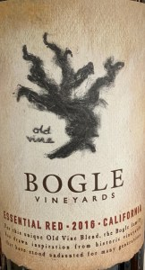 Bogle Essential Red Blend California 2016  (750ml)