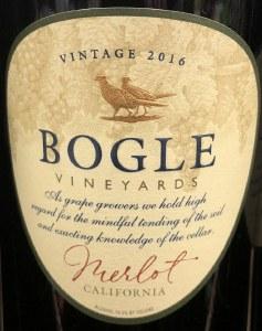 Bogle Merlot California 2017 (750ML)