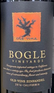 Bogle Old Vines Zinfandel California 2016 (750ml)